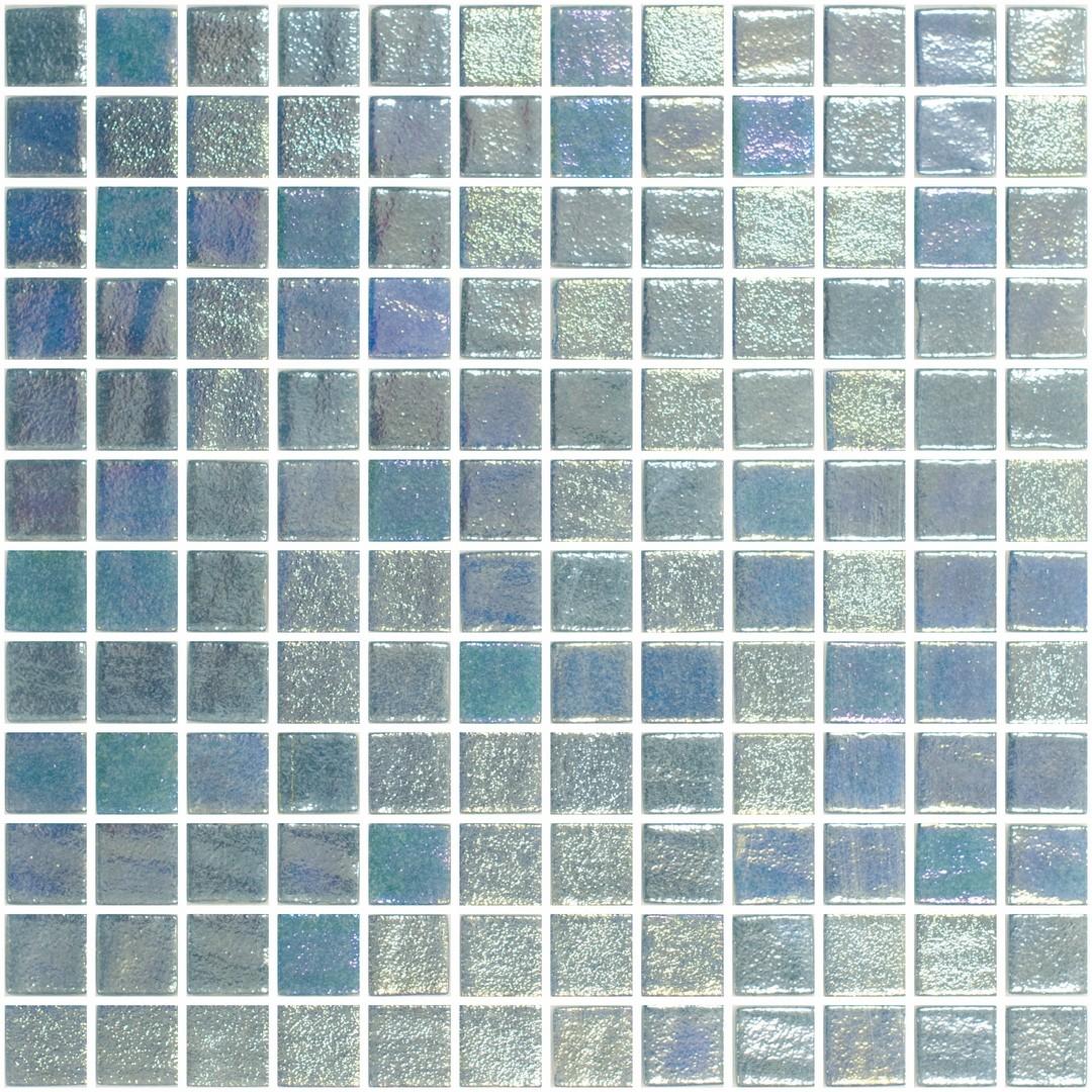 Mosaïque bleu turquoise panache pâte de verre   RUE DU CARRELAGE